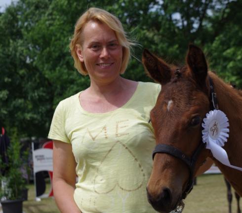 Angela Fitschen aus dem PZV Rotenburg-Sottrum